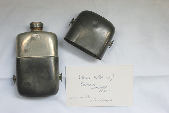 World War I Officers whiskey flask